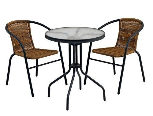 Zestaw ogrodowy stolik + 2 krzesła Nowe Okazja