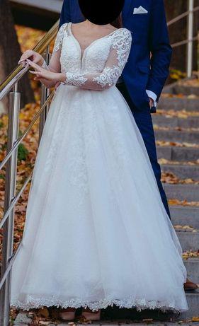 suknia ślubna - gratis welon