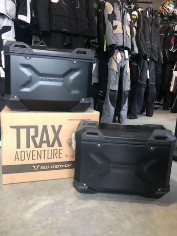 Zestaw 2 kufrów SW-MOTECH Trax ADV BLACK 37L Prawy/45l Lewy