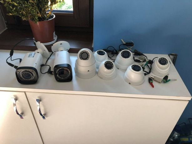 Zestaw 8 kamer + rejestrator