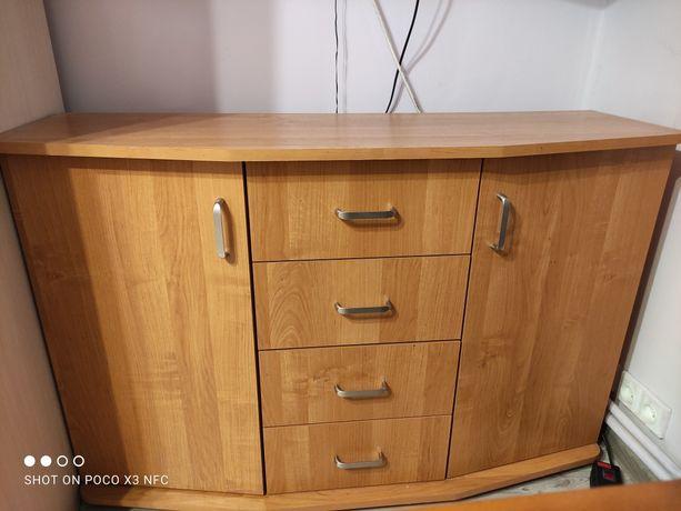 Komoda 4 szuflady i półki