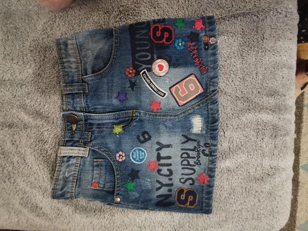 Spódnica jeansowa Next rozm. 104