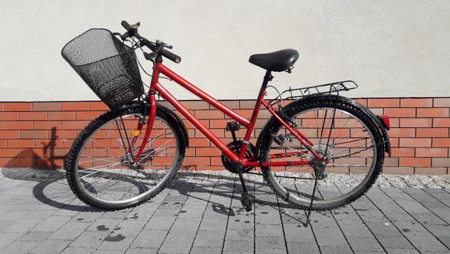 """Rower miejski z koszykiem 26 """""""