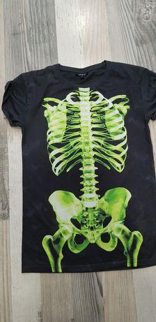 T shirt Topshop roz s rentgen szkielet