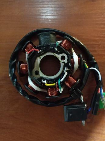 Статор магнетто генератора для китайских скутеров