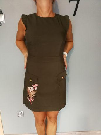 Orsay sukienka khaki. Haft 38