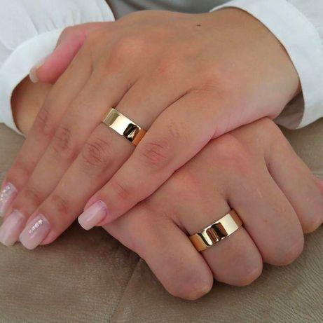 Przepiękne Złote Obrączki Ślubne Idealnie Wypolerowane!