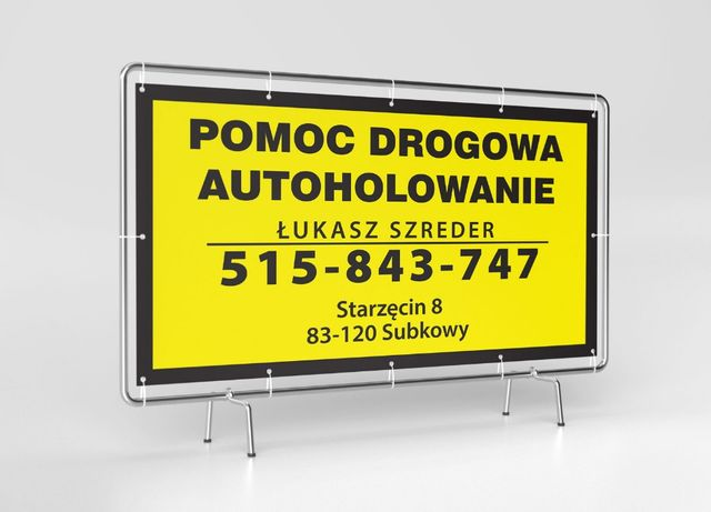 Pomoc Drogowa 24h Holowanie Laweta Transport Małych Maszyn Rolniczych