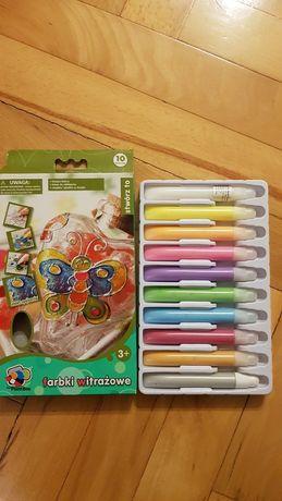 Farbki witrażowe 10 sztuk