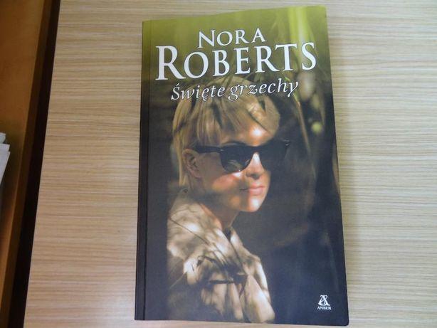 "Książka ""Święte grzechy"" Nora Roberts. WYSYŁKA GRATIS"