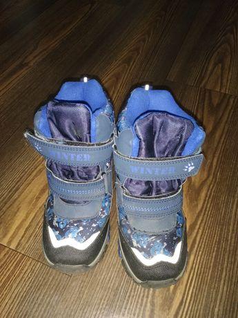Ботиночки для мальчика зимние