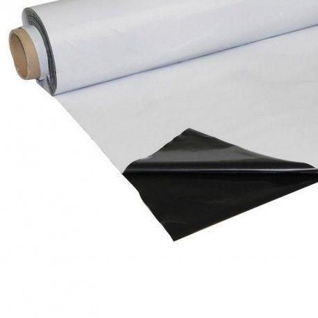 FOLIA czarno-biała grubość 110µm kiszonkarska 6x33 na pryzmy, silosy