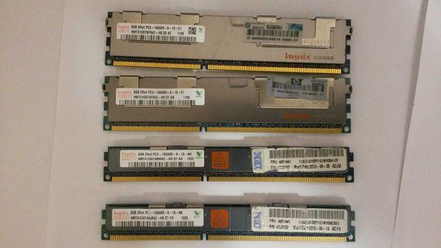 Комплект DDR3 памяти ecc reg для xeon huanan 32GB (8х4) 1333 hynix.