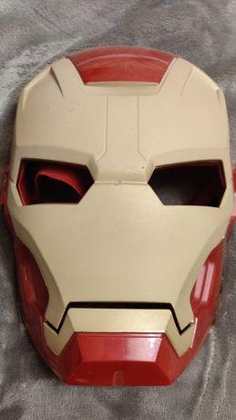 Маска Железного Человека на липучке (Iron Man, Marvel, Марвел)