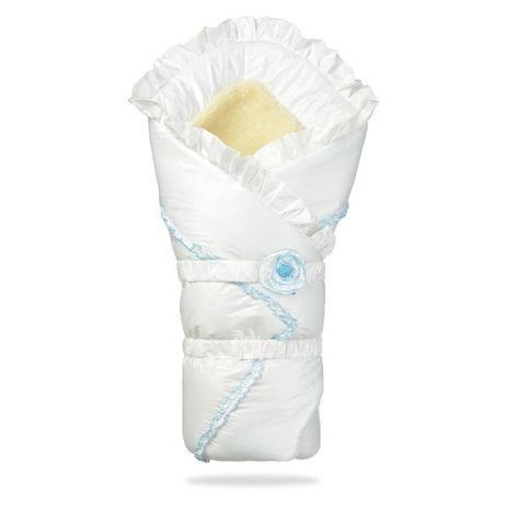 Конверт одеяло на овчине на выписку Пасторель ДоРечі