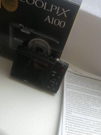 Nikon coolpix A100 aparat PRAKTYCZNIE NIEUŻYWANY