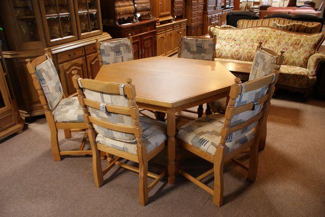 Zestaw Stół + 6 krzeseł. Okazja!
