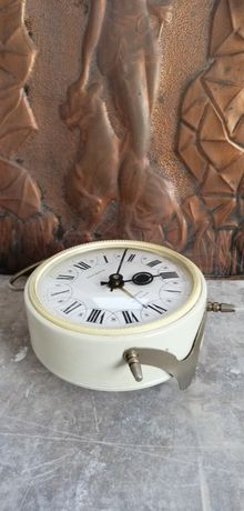 Zegarek nakrecany, Jantar USSR, prl, loft, vintage, retro, budzik !