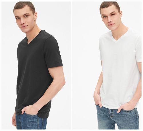 Футболка мужская базовая размер XS S GAP оригинал футболки мужские