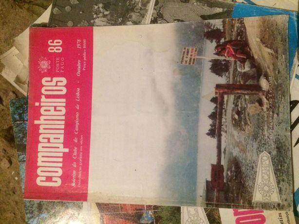 5 revistas ''companheiros'',