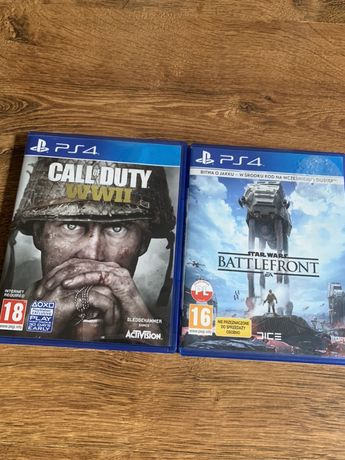 Ps4 Call of duty WWII    Battlefront 1