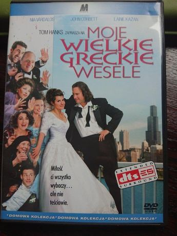 Moje wielkie greckie wesele na dvd