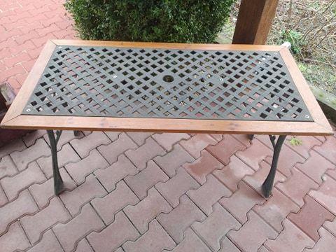 Stół ogrodowy żeliwny