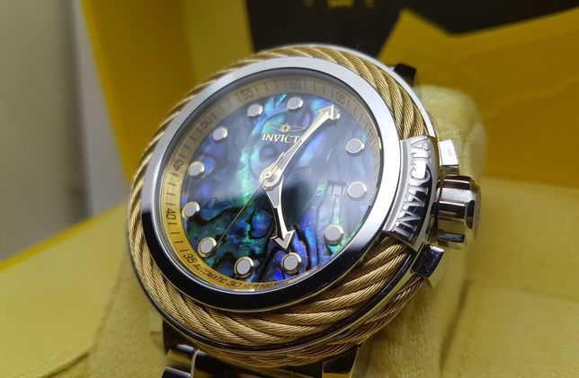Nowy zegarek INVICTA BOLT ELEGANT 26260 abalone nh35a wysyłka FV23