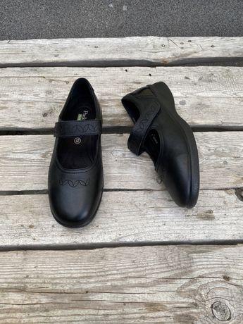 Оригинал кожаные туфли Padders Plus + England мокасины 40р 26см