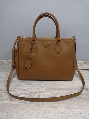 Кожаная сумка Prada galleria