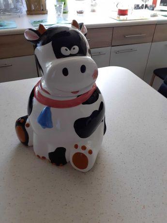 pojemnik do kuchni w ksztalcie krowy.