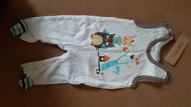 Śpiochy Lafel sowa, niemowlęce 62