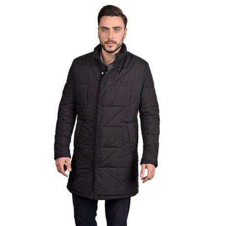 Новый длинный пальто-пуховик