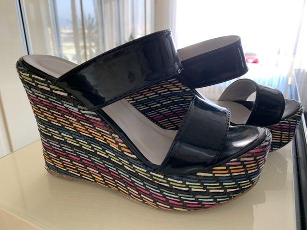 Sandały,buty na koturnie