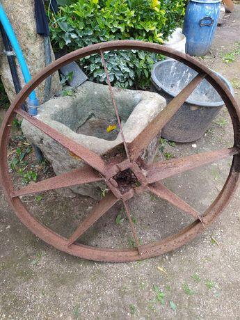 Rodas carro ferro antiguidades