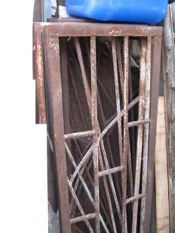 Решетка на окна, секции забора