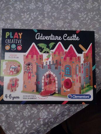 Zamek przygód Adventure castle Clementoni jak NOWE