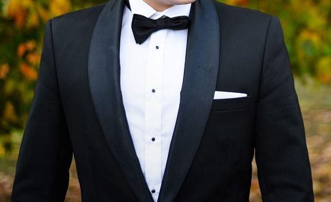 Smoking, garnitur ślubny