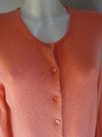 Adagio sweter skład 55 % jedwab, 45 % kaszmir r. 44 kolor malinowy