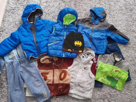 Paczka ubrań dla chlopca 86-98