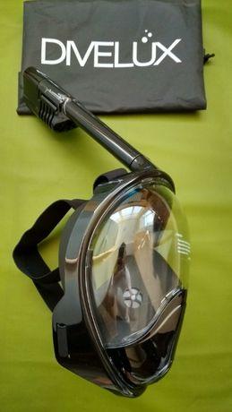 +ПОДАРОК Оригинальная панорамная маска для подводного плавания, сноркл