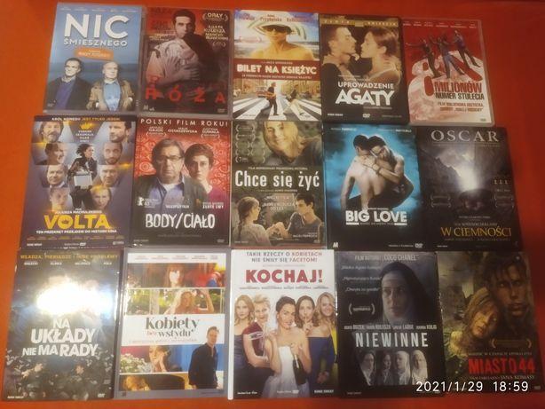 DVD 23 szt. Tylko polskie filmy, cena za całość