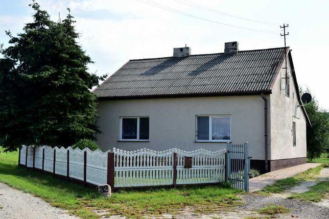 Dom 128 m2 gotowy do zamieszkania w Prusak, pow. wieruszowski