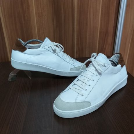 made in italy leather sneakers - roz. 45 / 30 cm.