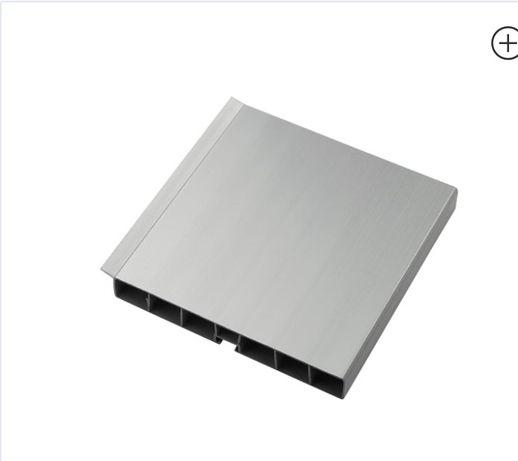 Цоколь кухонний Thermoplast 820 срібло 100х1860