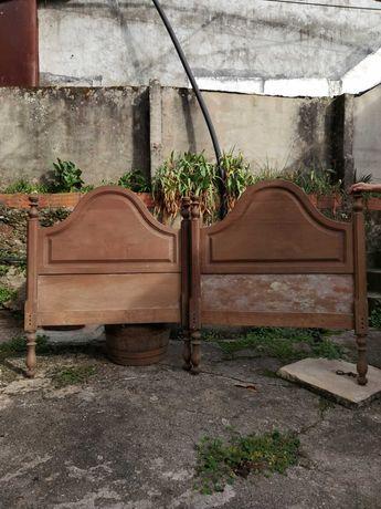 cabeceiras de camas em ferro e madeira