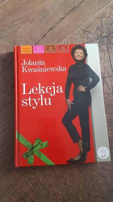 Lekcja stylu Jolanty Kwaśniewskiej