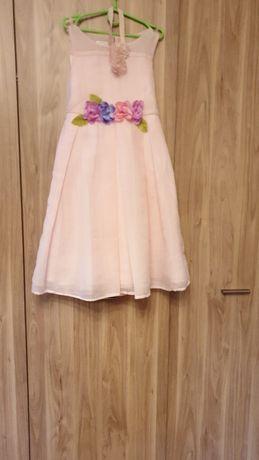 Платье праздничное, фирма  Monsoon Accessories, рост 128-140