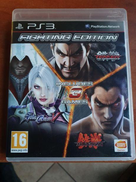 Fighting Edition Tekken Soul Calibur Ps3 PlayStation Lombard Dzik