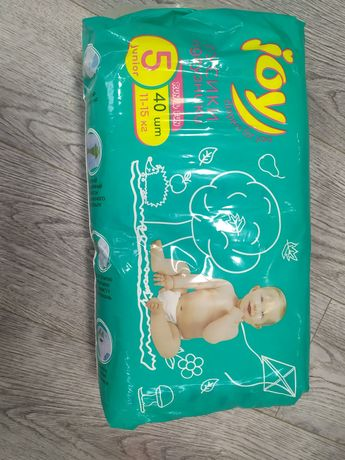 Подгузники -трусики Joy Run &Fun , размер 5, 40 шт.